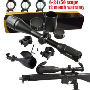 Sniper 6-24x50 AOE Illuminated Rifle Hunting Sniper Scope