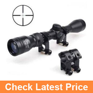 CVLIFE Tactical 3-9x40 Optics R4 Reticle Crosshair Air Sniper Hunting Rifle Scope